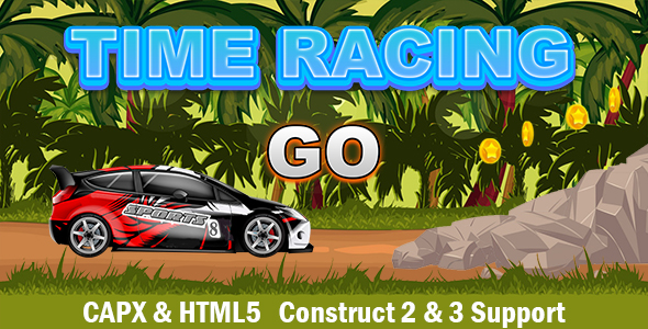 [Free Download] Time Racing (CAPX and HTML5) Car Game (Nulled) [Latest Version]