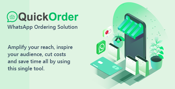 [Free Download] QuickOrder – WhatsApp Ordering SaaS PHP Script (Nulled) [Latest Version]
