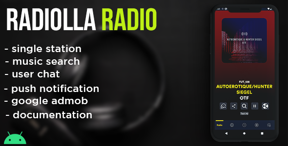 [Free Download] Radiolla S – live radio, news, push, search track, chat, php backend (android) (Nulled) [Latest Version]