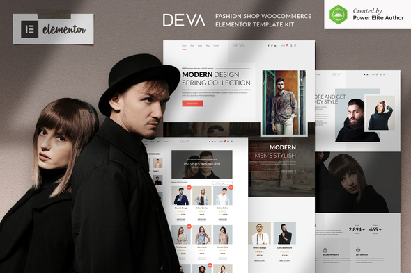 [Free Download] DEVA – Fashion Store WooCommerce Elementor Template Kit (Nulled) [Latest Version]