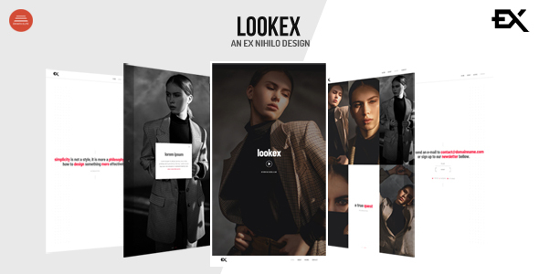 [Free Download] Lookex – Creative Portfolio Template (Nulled) [Latest Version]