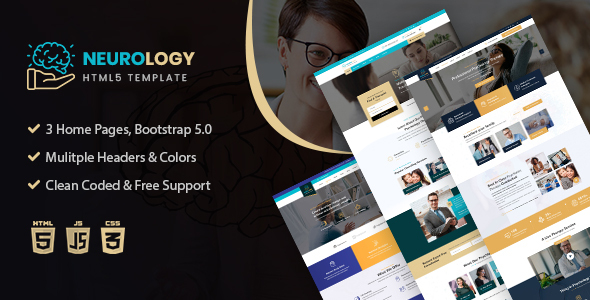 [Free Download] Neurology- Psychology HTML5 Template (Nulled) [Latest Version]