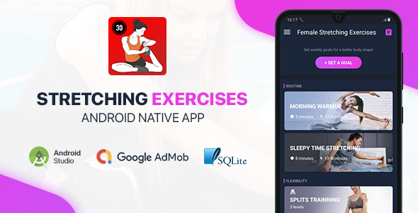 [Free Download] Female Stretching Exercises – Full Android Application (Nulled) [Latest Version]