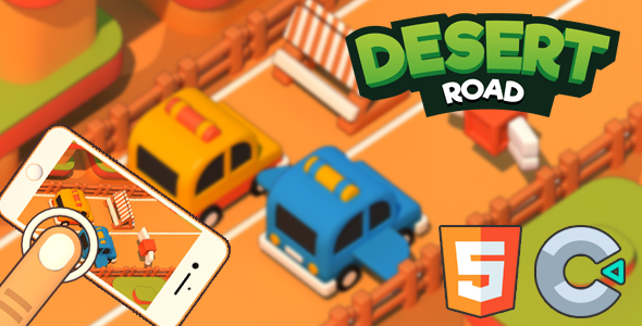 [Free Download] Desert Road – HTML5 Game (Nulled) [Latest Version]