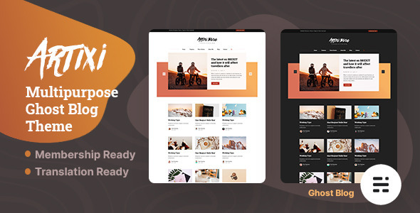 [Free Download] Artixi – Multipurpose Ghost Blog Theme (Nulled) [Latest Version]