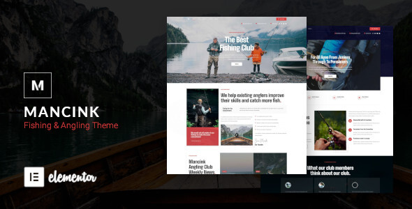 [Free Download] Mancink – Fishing & Angling WordPress Theme (Nulled) [Latest Version]