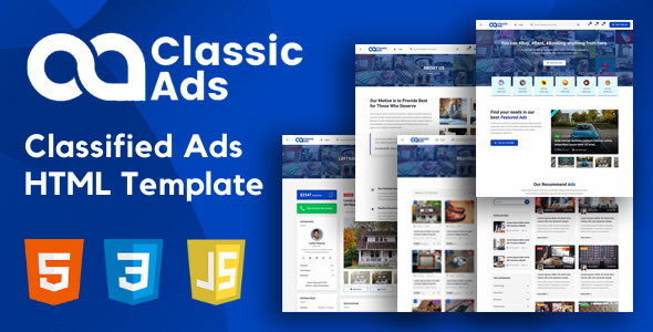 [Free Download] Classicads – Classified Ads HTML Template (Nulled) [Latest Version]