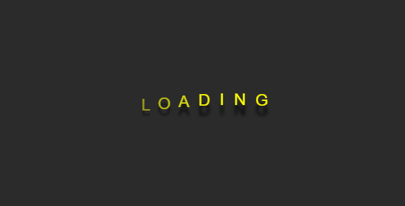 [Free Download] Loading Type Effect (Nulled) [Latest Version]