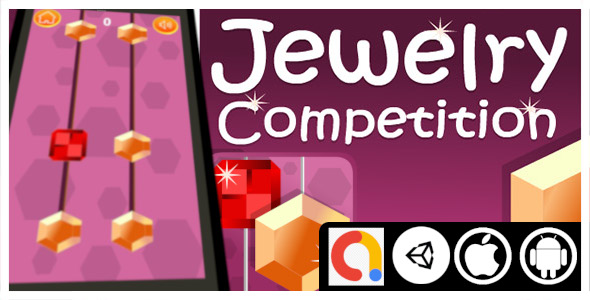 [Free Download] Jewelry Competition Unity Arcade Game with Admob ad for android and iOS (Nulled) [Latest Version]