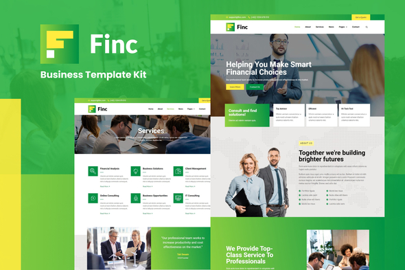 [Free Download] Finc – Business & Financial Elementor Template Kit (Nulled) [Latest Version]