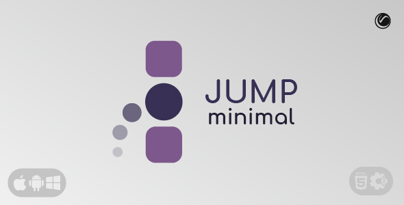 [Free Download] Jump Minimal | HTML5 • Construct Game (Nulled) [Latest Version]