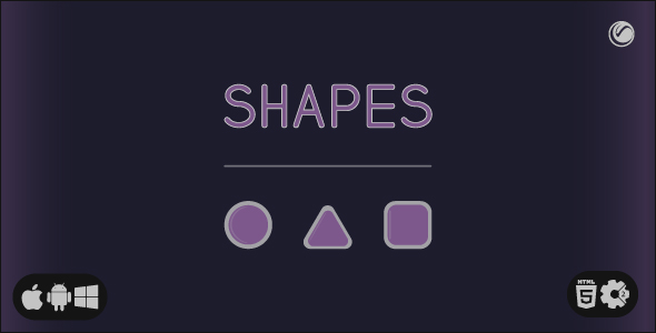 [Free Download] Shapes | HTML5 • Construct Game (Nulled) [Latest Version]