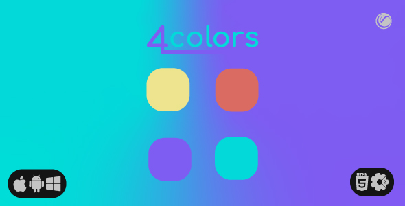 [Free Download] Four Colors | HTML5 • Construct Game (Nulled) [Latest Version]