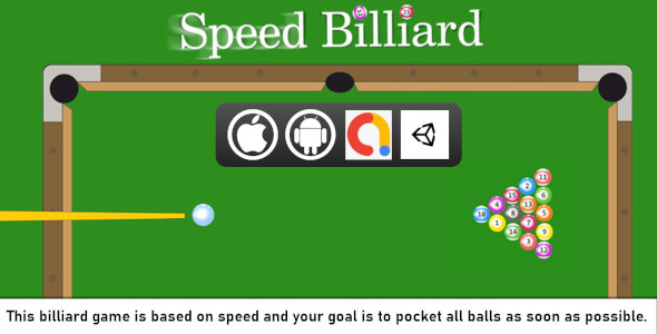 [Free Download] Speed Billiard Unity Casual and Sport Game Project With Admob For Android And iOS (Nulled) [Latest Version]