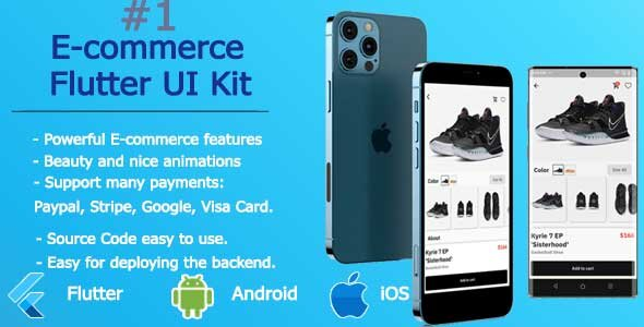 [Free Download] Shoe Store – Flutter E-commerce Application (Nulled) [Latest Version]
