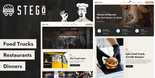 [Free Download] Stego – Food Truck & Restaurant Theme (Nulled) [Latest Version]