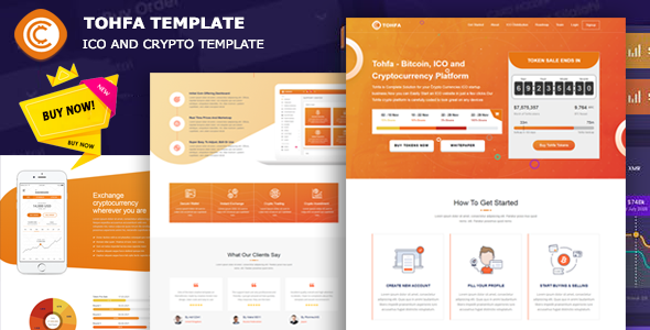 [Free Download] Tohfa – ICO and Crypto Template (Nulled) [Latest Version]