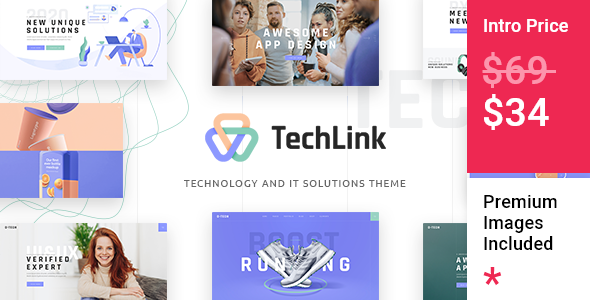[Free Download] TechLink – Technology and IT Solutions Theme (Nulled) [Latest Version]