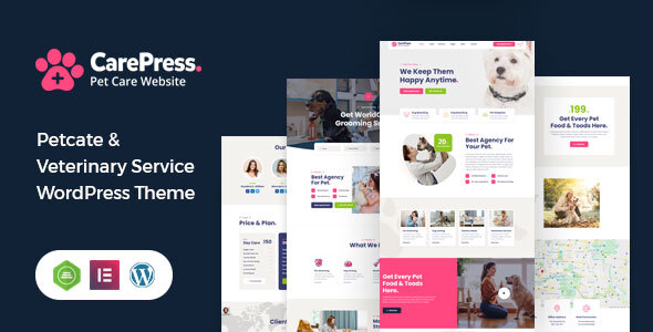 [Free Download] CarePress – Pet Care WordPress Theme (Nulled) [Latest Version]