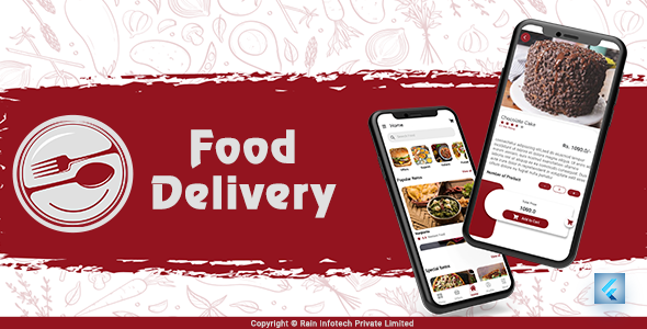 [Free Download] Food Delivery UI Kit – Flutter UI Kit (Nulled) [Latest Version]