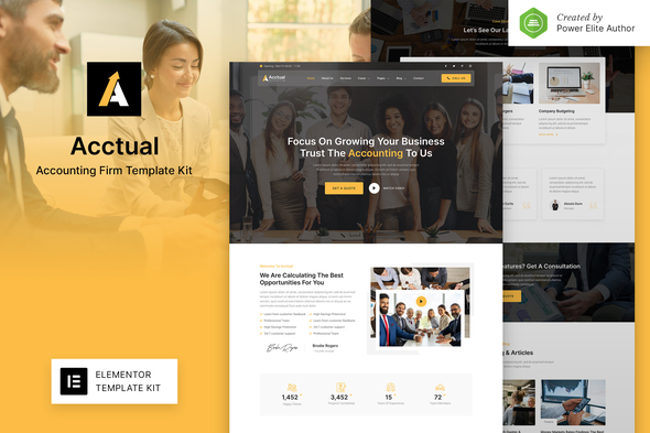 [Free Download] Acctual – Accounting Firm Elementor Template Kit (Nulled) [Latest Version]