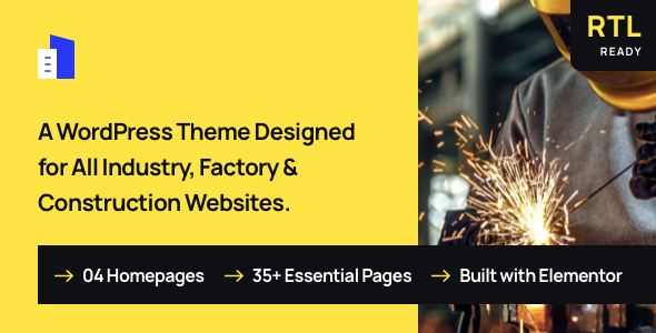[Free Download] Trydus – Industrial & Factory WordPress Theme (Nulled) [Latest Version]