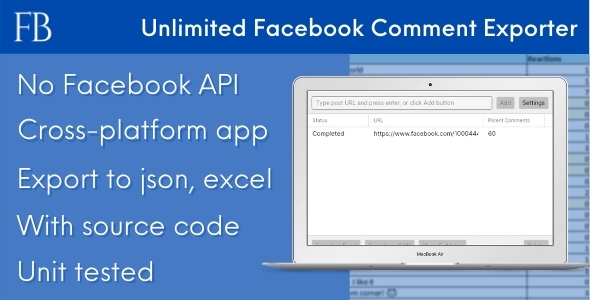 [Free Download] FBCE – Unlimited Facebook Comment Scraper (Nulled) [Latest Version]