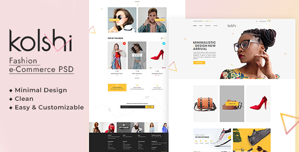 [Free Download] Kolshi E-commerce PSD Template (Nulled) [Latest Version]