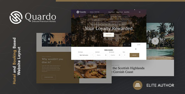 [Free Download] Quardo | Deluxe Premium Hotels Joomla Template (Nulled) [Latest Version]