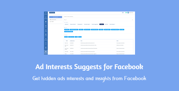 [Free Download] Ad Interests Suggests for Facebook (Nulled) [Latest Version]