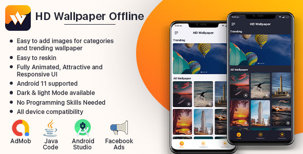 [Free Download] HD Wallpaper Offline (Nulled) [Latest Version]