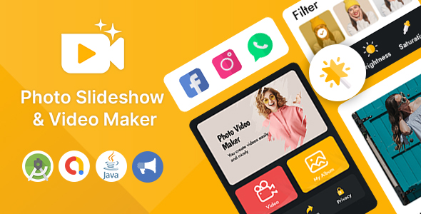 [Free Download] Photo Slideshow & Video Maker for Android App (Nulled) [Latest Version]