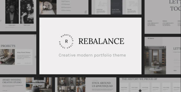 [Free Download] Rebalance – Architect Portfolio HTML5 Template (Nulled) [Latest Version]