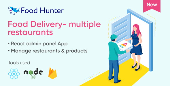 [Free Download] Food delivery admin panel – Food Hunter (Nulled) [Latest Version]