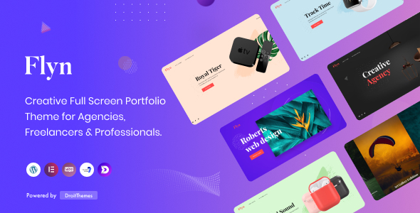 [Free Download] Flyn – Creative Portfolio WordPress Theme (Nulled) [Latest Version]