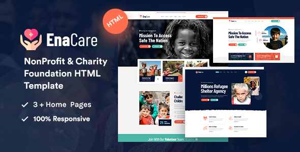 [Free Download] EnaCare – NonProfit & Charity Foundation HTML5 Template (Nulled) [Latest Version]