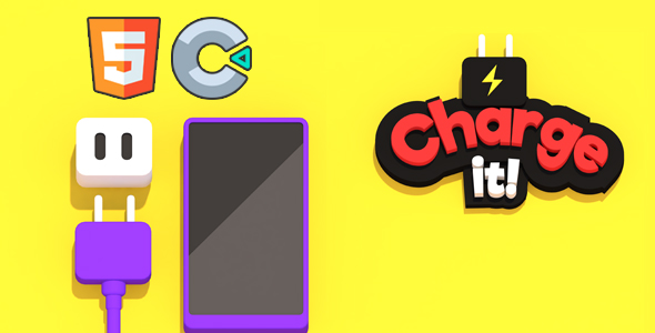 [Free Download] Charge it! – HTML5 Game – Construct 3 (Nulled) [Latest Version]