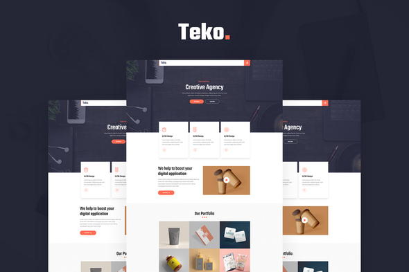 [Free Download] Teko – Creative Agency Template Kit (Nulled) [Latest Version]