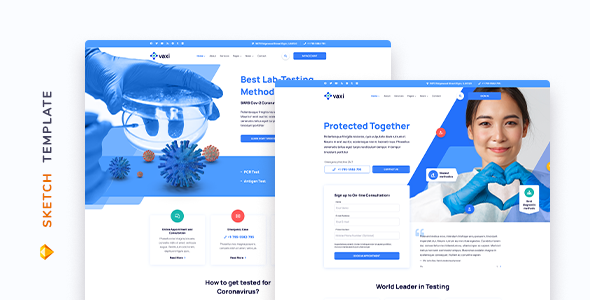 [Free Download] Vaxi – COVID Vaccination Template for Sketch (Nulled) [Latest Version]