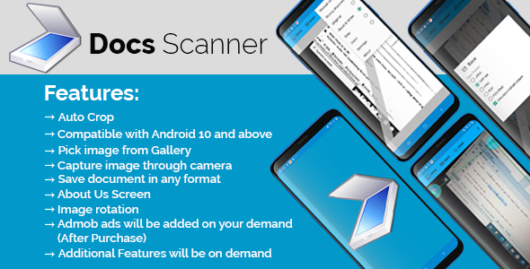 [Free Download] Smart Documents Scanner App (Nulled) [Latest Version]