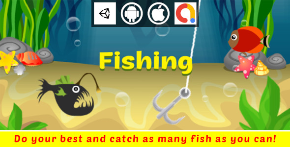 [Free Download] Fishing Unity Casual Game With Admob For Android And iOS (Nulled) [Latest Version]