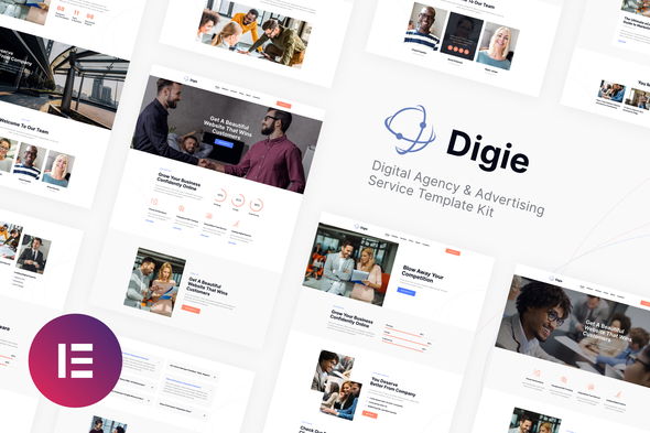 [Free Download] Digie | Digital Agency & Advertising Service Elementor Template Kit (Nulled) [Latest Version]