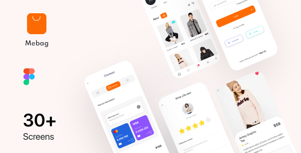 [Free Download] Mebag-Ecommerce App UI Kit (Nulled) [Latest Version]