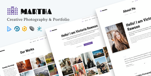 [Free Download] Martha | Creative Portfolio Joomla Template (Nulled) [Latest Version]