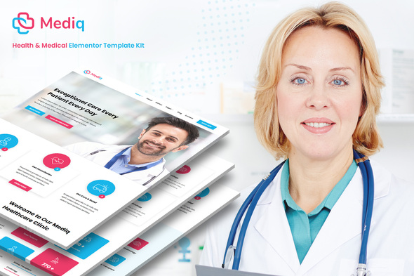 [Free Download] Mediq – Health & Medical Elementor Template Kit (Nulled) [Latest Version]