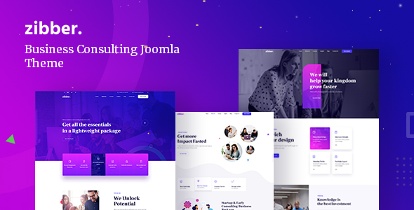[Free Download] Zibber – Business Consulting Joomla Template (Nulled) [Latest Version]