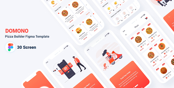[Free Download] Domono – Pizza Builder Figma Template (Nulled) [Latest Version]