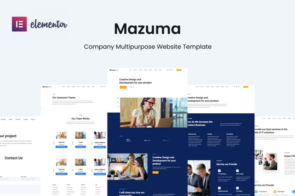[Free Download] Mazuma – Business Elementor Template Kit (Nulled) [Latest Version]
