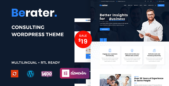 [Free Download] Berater – Consulting WordPress Theme (Nulled) [Latest Version]