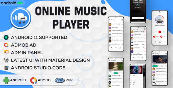 [Free Download] Online Music Player with Admin Panel (Nulled) [Latest Version]